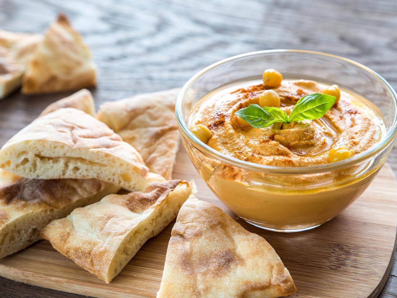 Hummus de hierbas