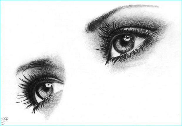 Pencil Sketch Of Beautiful Human Eyes 6 Ojos Pinterest Ojos