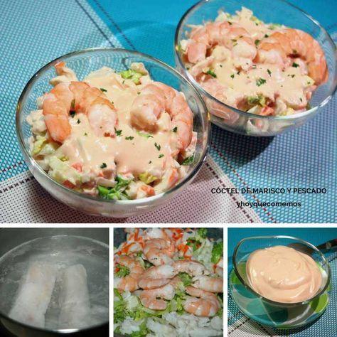 Cóctel de marisco y pescado – Receta fácil de aperitivo y entrante