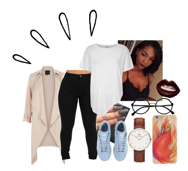 """""""I Aint The Shxt To You Yet..."""" by therealne ❤ liked on Polyvore featuring Daniel Wellington, River Island, adidas, Retrò, Manic Panic, Old Navy, women's clothing, women, female and woman"""