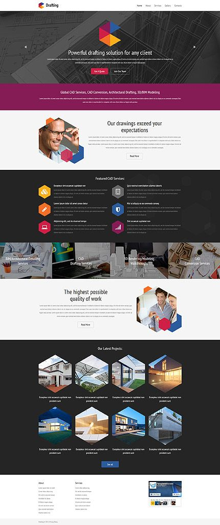 Powerful Drafting Solution #website #template. #themes #business ...