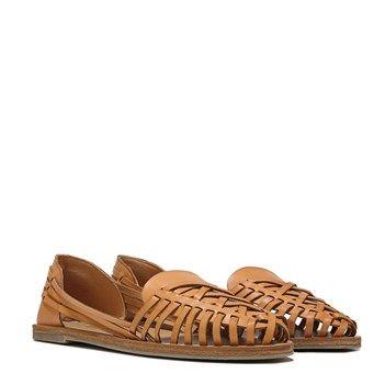 Coconuts Folly Huarache Flat Natural Famous Footwear