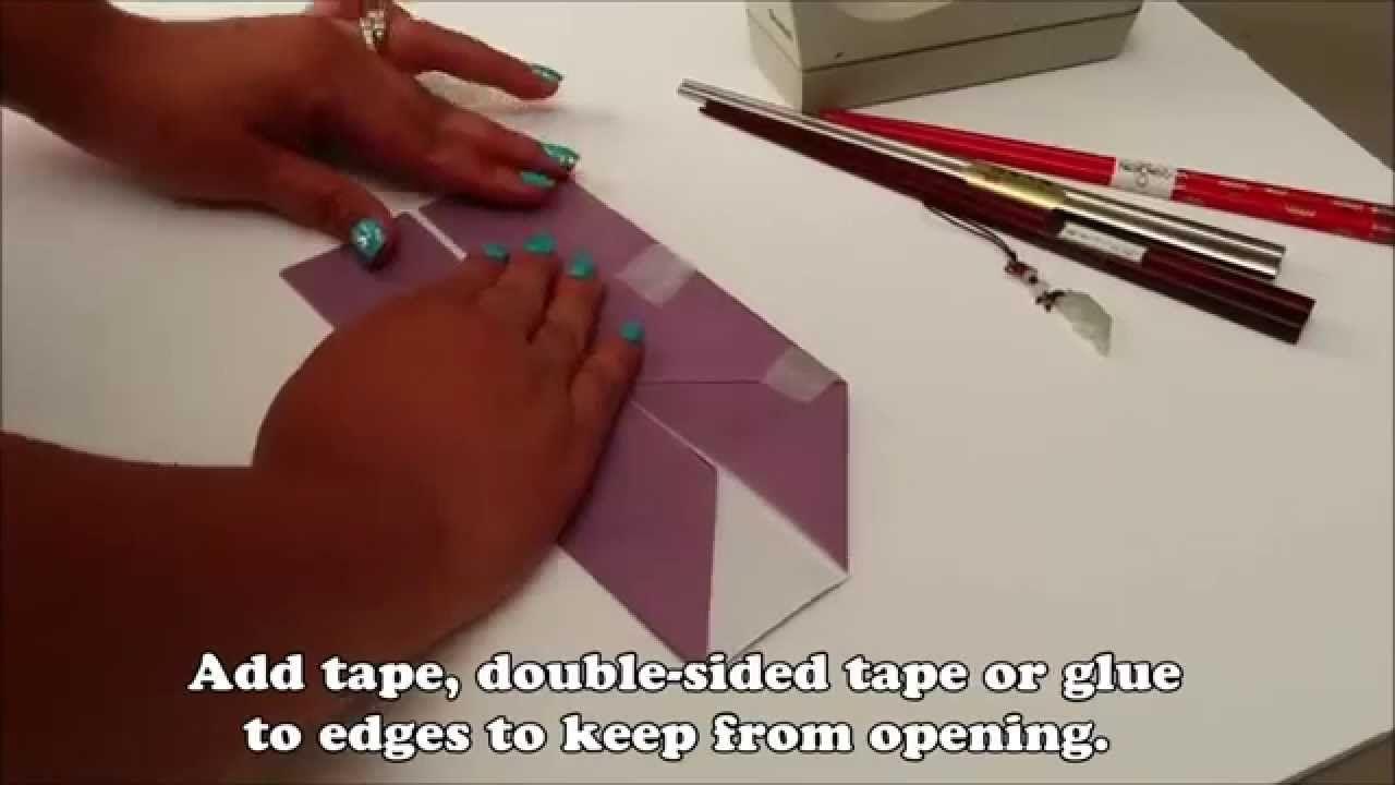 How To Make Origami Chopsticks Holder Mrs Lins Kitchens Youtube