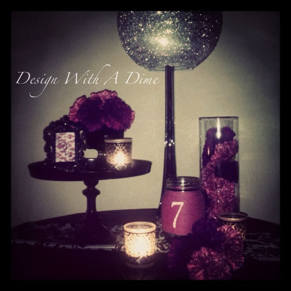 Design With A Dime Hand Crafted Wedding Decor