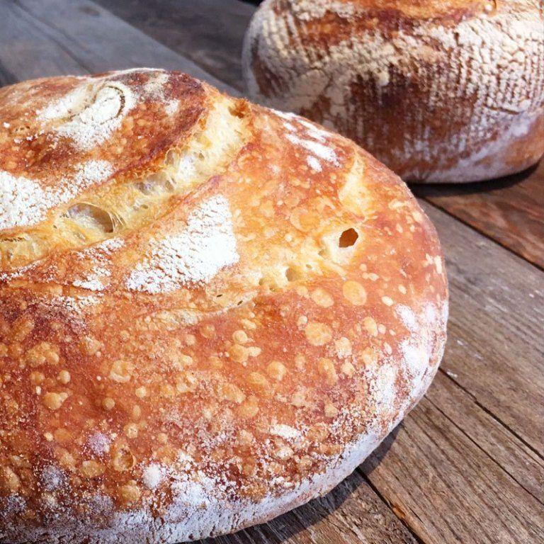 Easy Step-by-Step Artisan Sourdough Bread Recipe - Full of ...