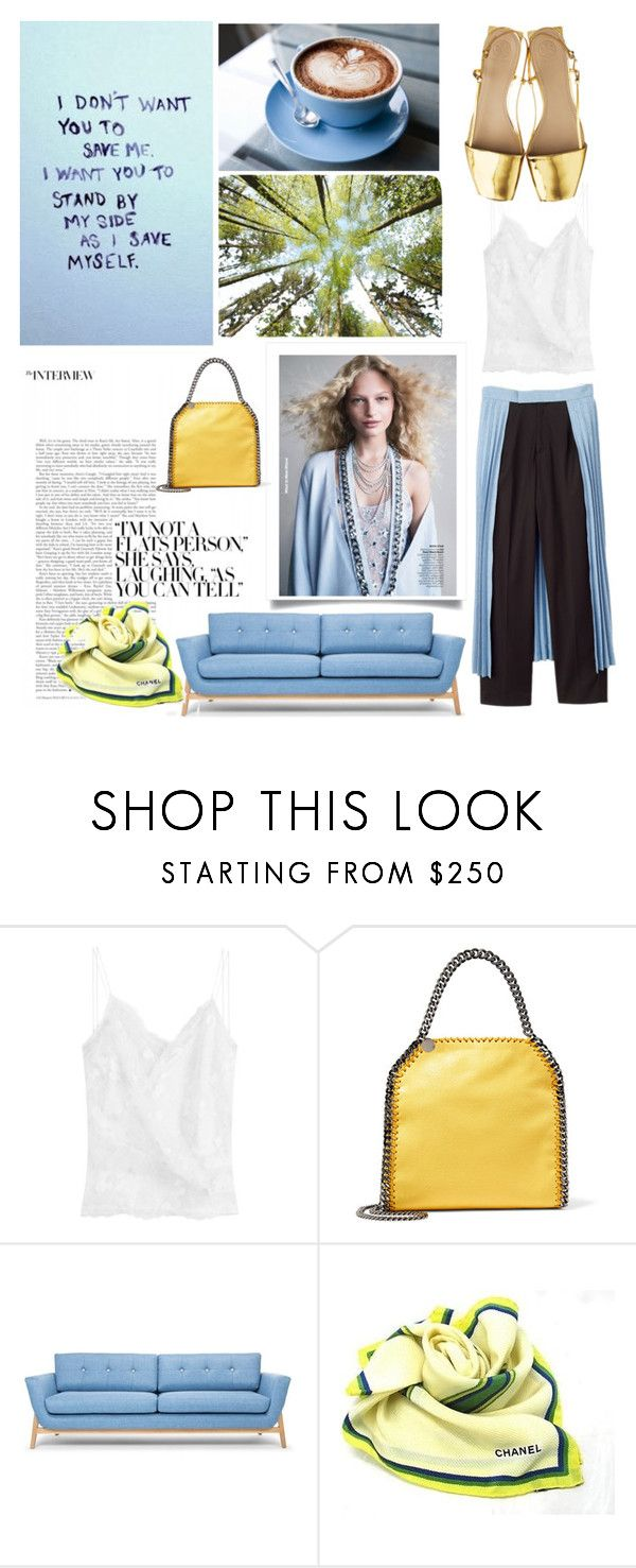 """Clear color"" by romihi ❤ liked on Polyvore featuring Carven, STELLA McCARTNEY and Chanel"