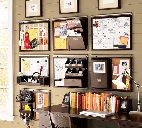 DIY Wall Space Office Organizer   Take Your Planning To The Next  Levelu2014literally. By Using Wall Space For Just About Everything, Your Desk  Will Be Clear For ...
