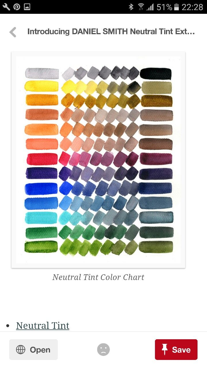 Pin By M A On Colour Color Mixing Chart Watercolor Art