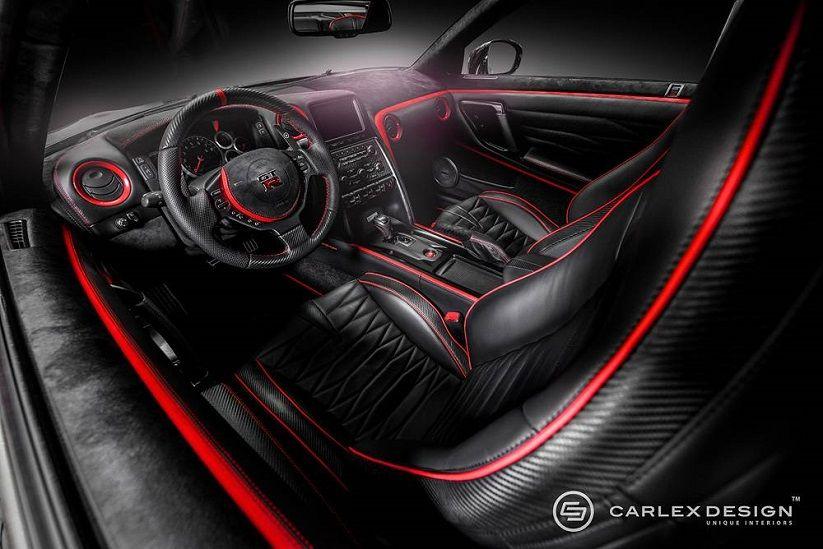 Katana Inspired Nissan Gt R Interior By Carlex Design On Mycarid 日産 Gtr 日産 チューナーカー