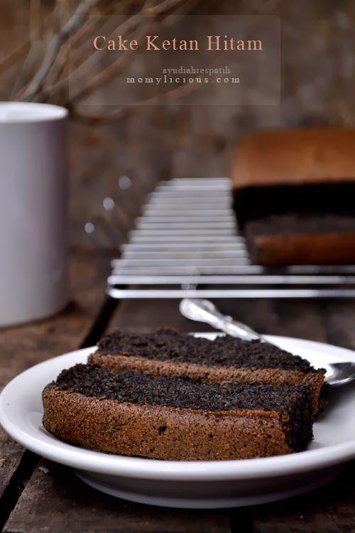 Cake Ketan Hitam Resep Biskuit Memanggang Kue Makanan