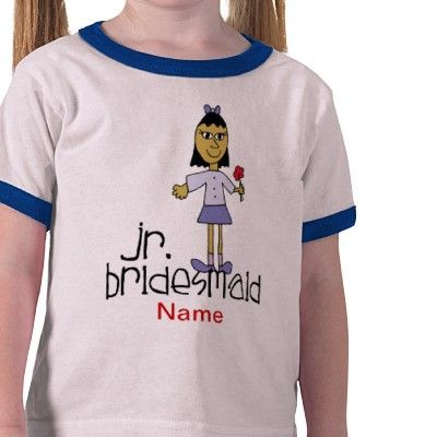 Jr. Bridesmaid Shirt from http://www.zazzle.com/will+you+be+my+bridesmaid+gifts