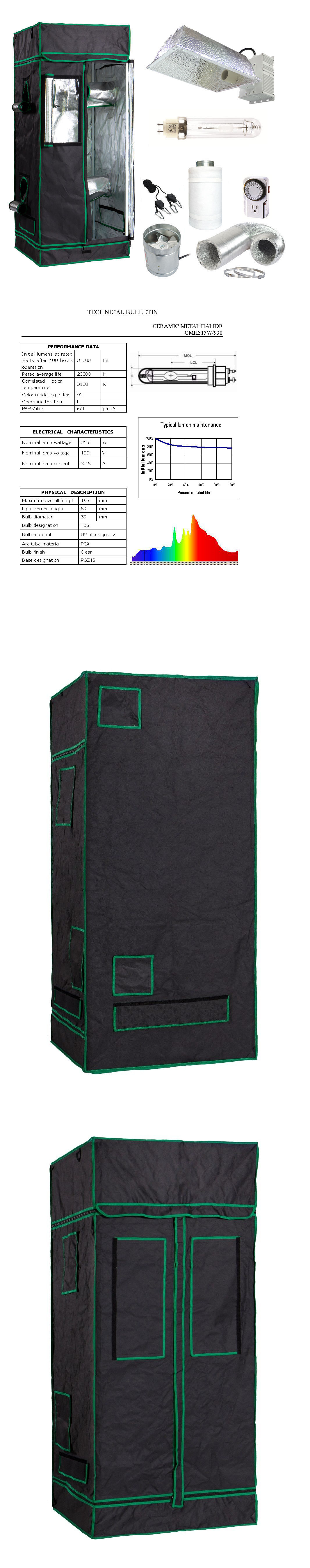 Tents Tarps and Shelves 178993 31X31x71 Grow Tent Kit W 315W Cmh Cdm Kit And  sc 1 st  Pinterest & Tents Tarps and Shelves 178993: 31X31x71 Grow Tent Kit W 315W Cmh ...