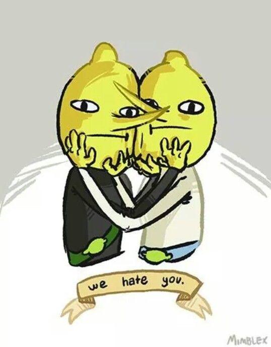Adventure Time Lemon Grabs --my two favorite psychopaths