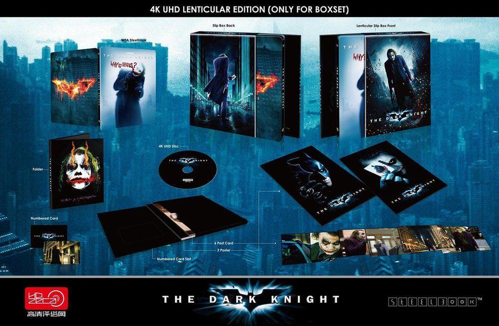 The Dark Knight Hdzeta Gold Label 20 Lenticular Slip 264 1000 In 2020 Dark Knight Gold Labels Knight