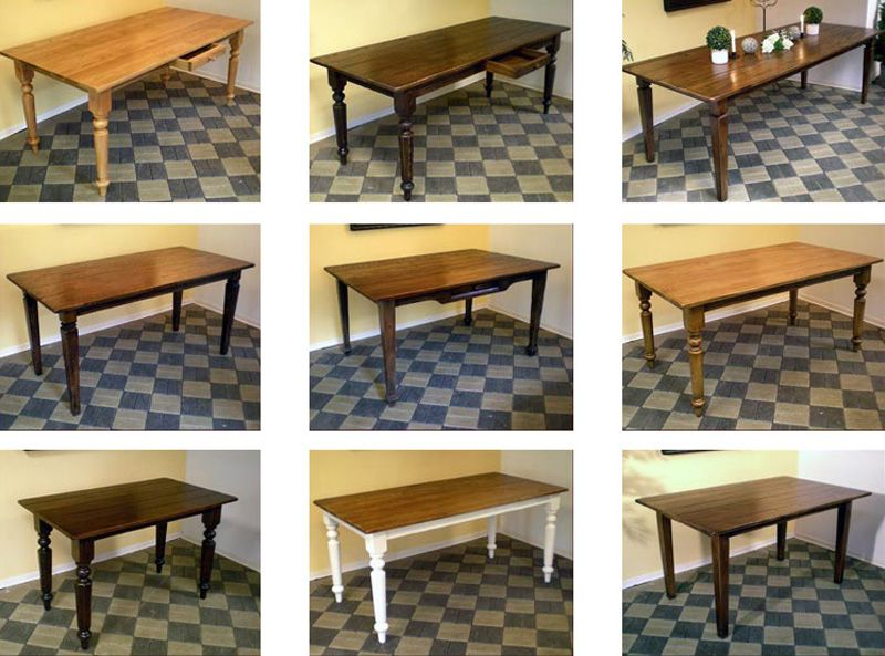 Patina Faktum - Esstische  beautiful tables made to order.