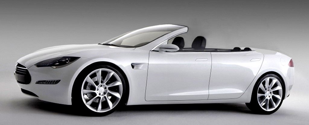 Tesla Model S Convertible By Newport Engineering 29k Soft Top Conversion Cost 49k Hard