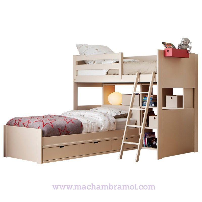 lits superpos s d 39 angle liso asoral chambre enfants bed girls bedroom et bunk beds. Black Bedroom Furniture Sets. Home Design Ideas