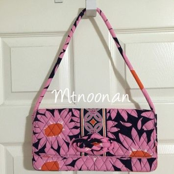 f5489eac4abf Vera Bradley Loves Me Pink Clutch on Sale