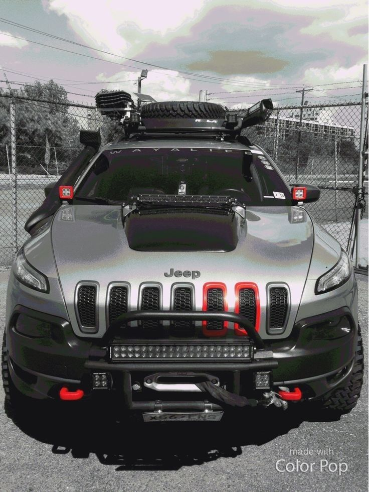 Custom Jeep Compass : custom, compass, Pouya, Mortezaei, Gallinero, Cherokee,, Cherokee, Sport,, Trailhawk