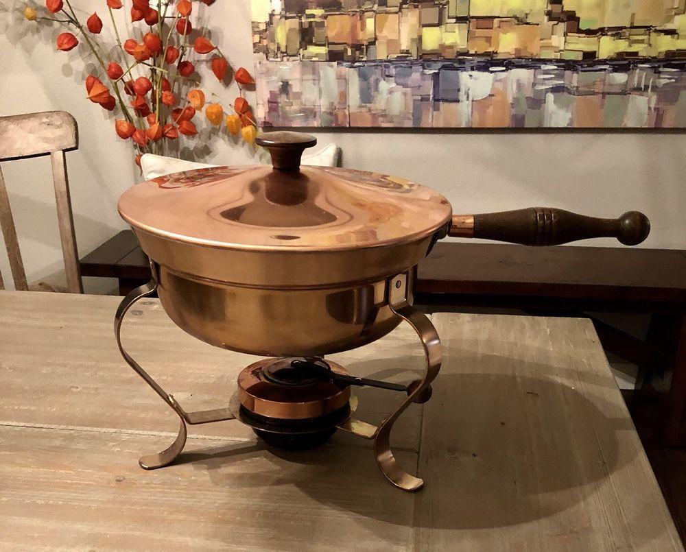 Copper chaffing serving dish ebay serving dishes