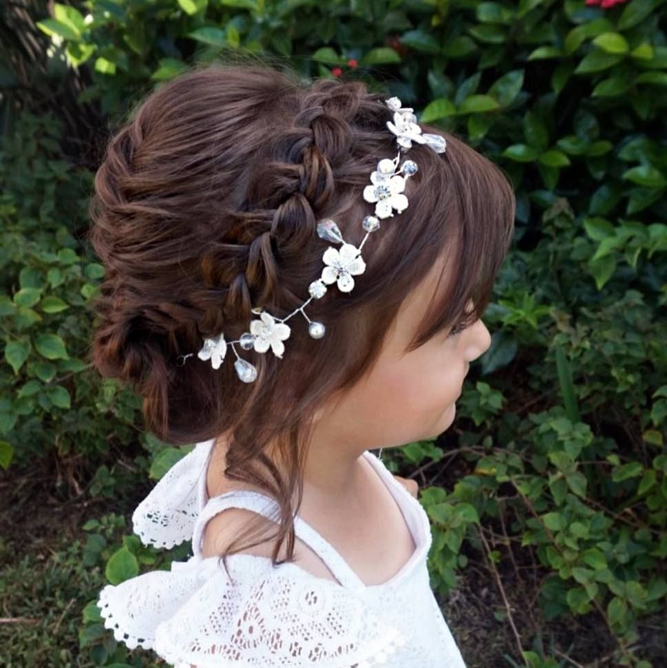 35 Flower Girl Hairstyles 35 Flower Girl Hairstyles new picture
