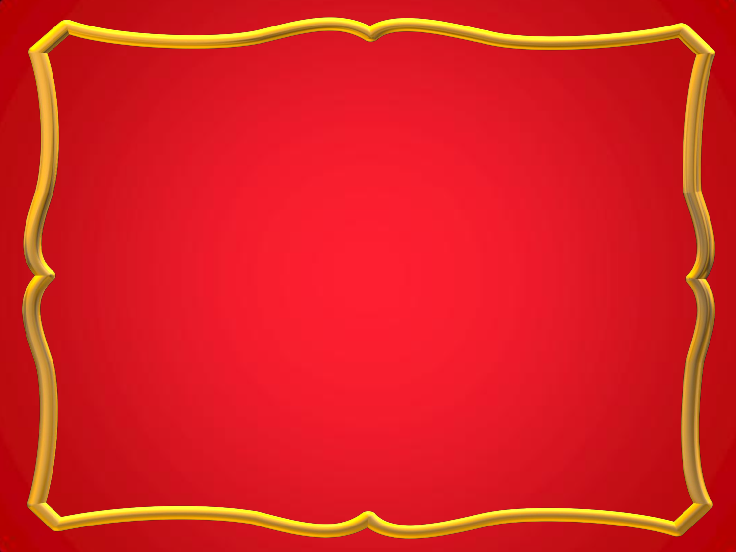 Free frames and borders png red with gold frame for Red with gold