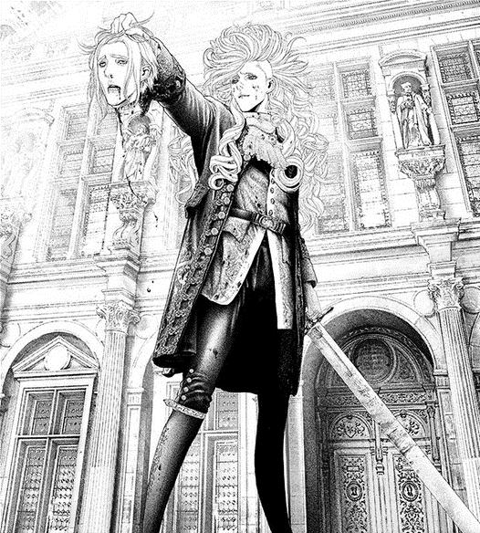 Marie Joseph Sanson // INNOCENT   Manga artist, Graphic novel ...