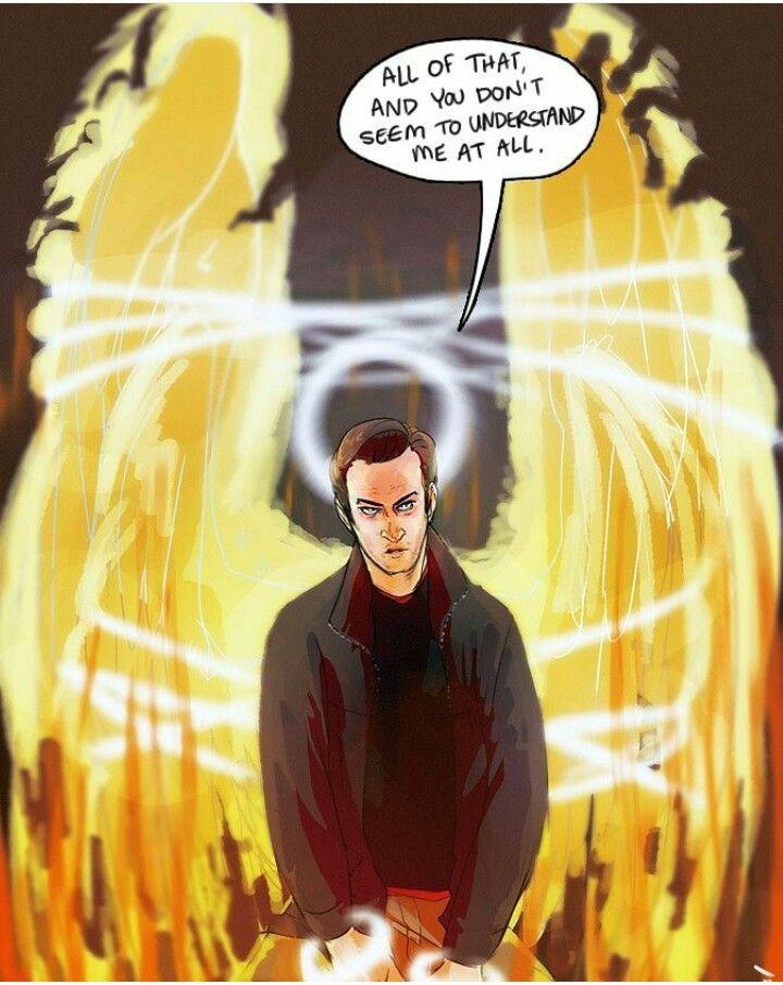 Gabriel  Supernatural  Fanart  Angel