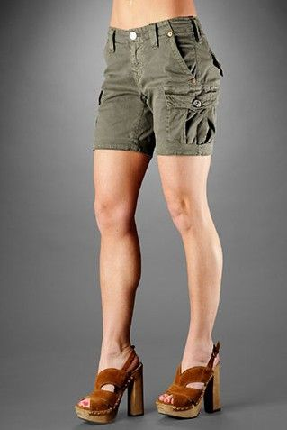 cargo shorts for women | Popular Styles of Womens Cargo Shorts ...