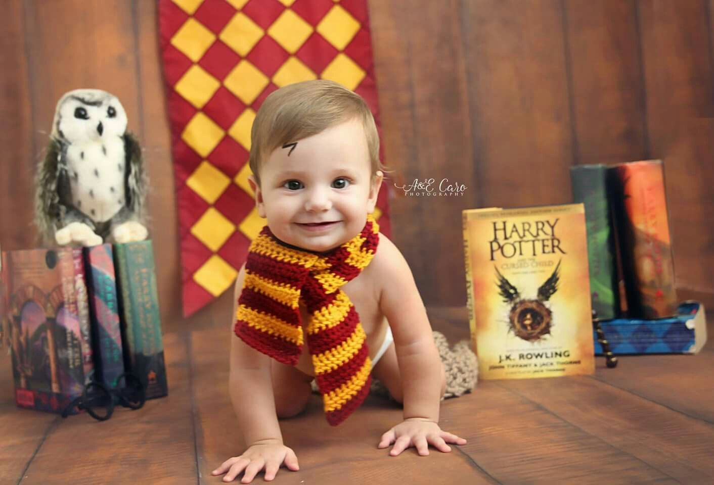 Harry potter 8 month session #babysfirstyear #columbusgaphotographer #aecarophotography