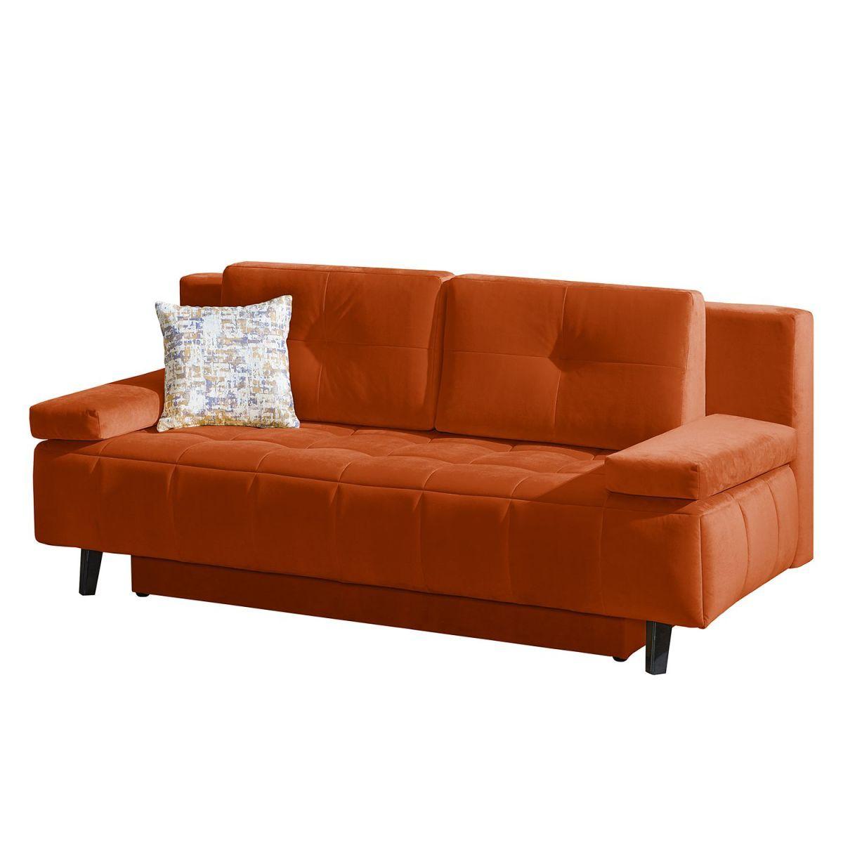 Perfekt Schlafsofa Loppi Samt   Orange, Fredriks Jetzt Bestellen Unter: Https:// Moebel.ladendirekt.de/wohnzimmer/sofas/schlafsofas/?uidu003d18e360c4 A8d1 581a 886f   ...