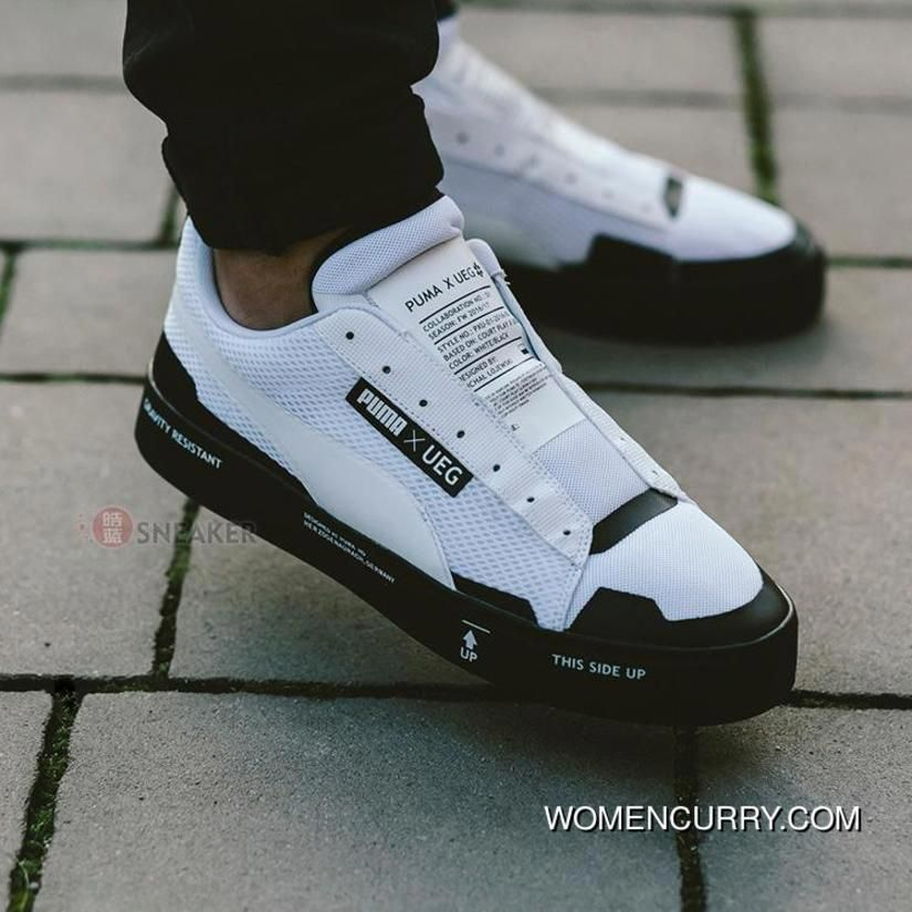 Puma Court Play Slipon X UEG 361637 02 White Women Men Top