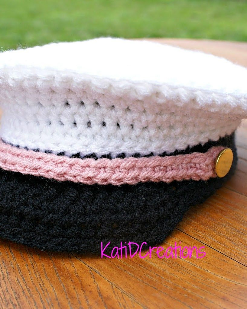 Military Hat | Plastic Canvas Favorites | Pinterest | Capuchas ...