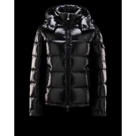 moncler mens down jacket,Moncler Maya Winter Mens Down Jacket Fabric Smooth Black