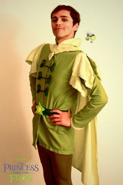 The Princess And The Frog Prince Naveen Halloween Adult Men Cosplay Cos