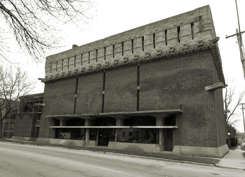 Richland Center Wisconsin Frank Lloyd Wright 1921