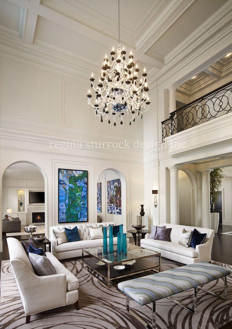 Burlington Interior Design Project Contemporary Classicism Interior Design Home Classic Living Room