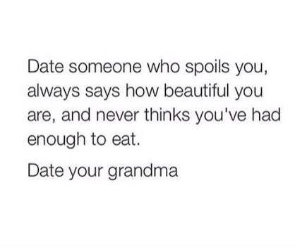 Date your grandma