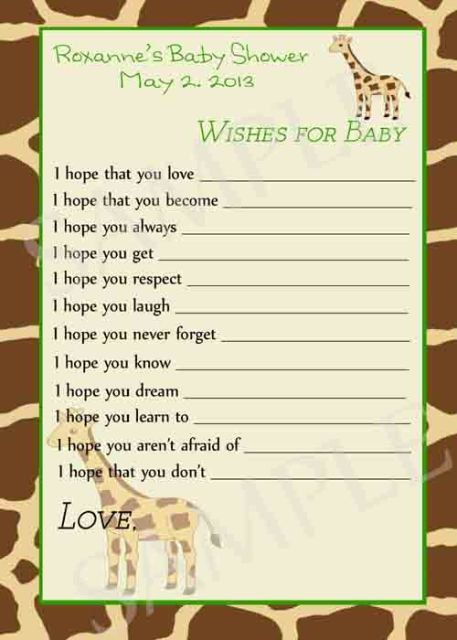 Jungle Baby Shower Games Printable By Moments2Celebrate On Etsy, $15.00