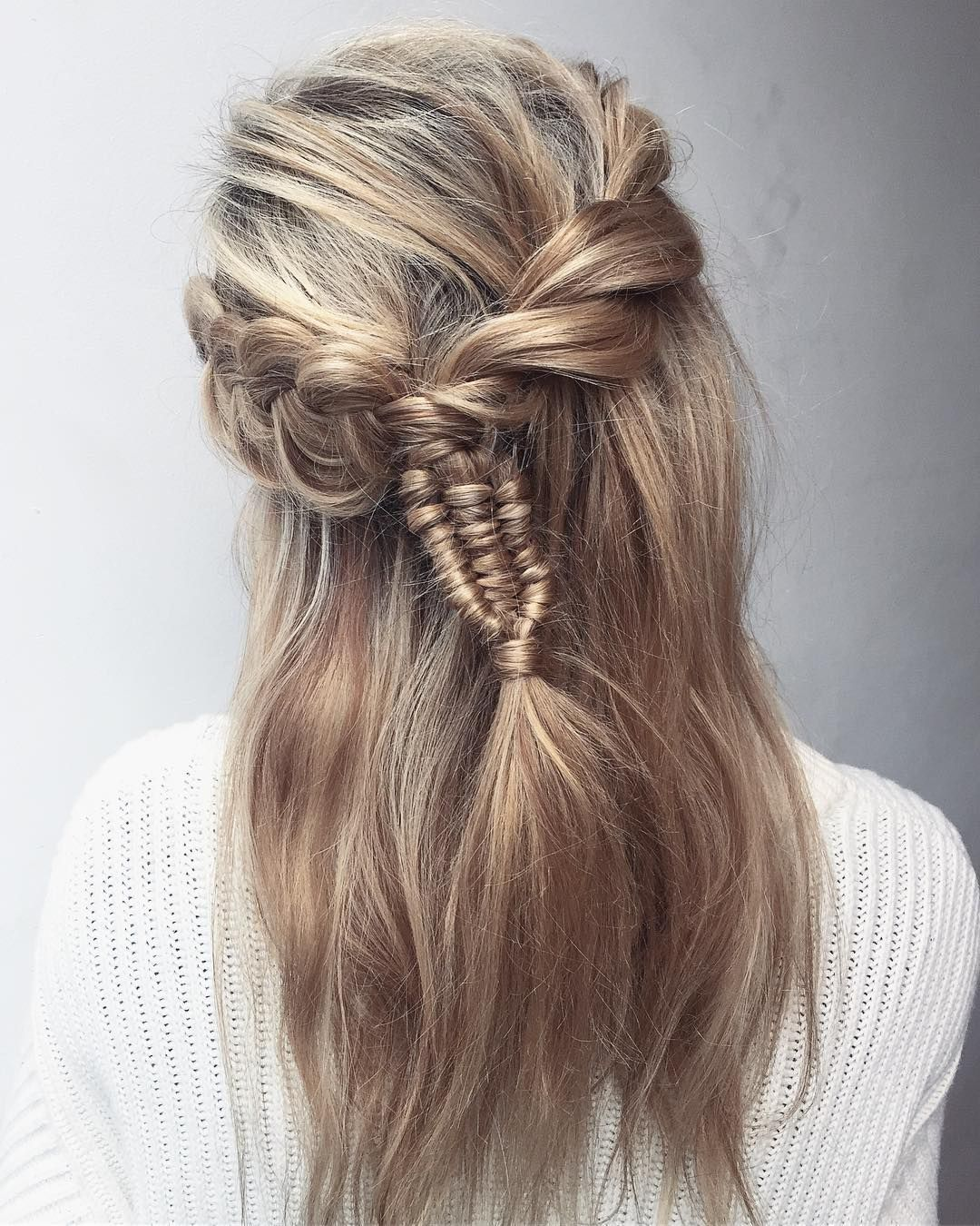 2019 year for girls- How to stylish make hair plates