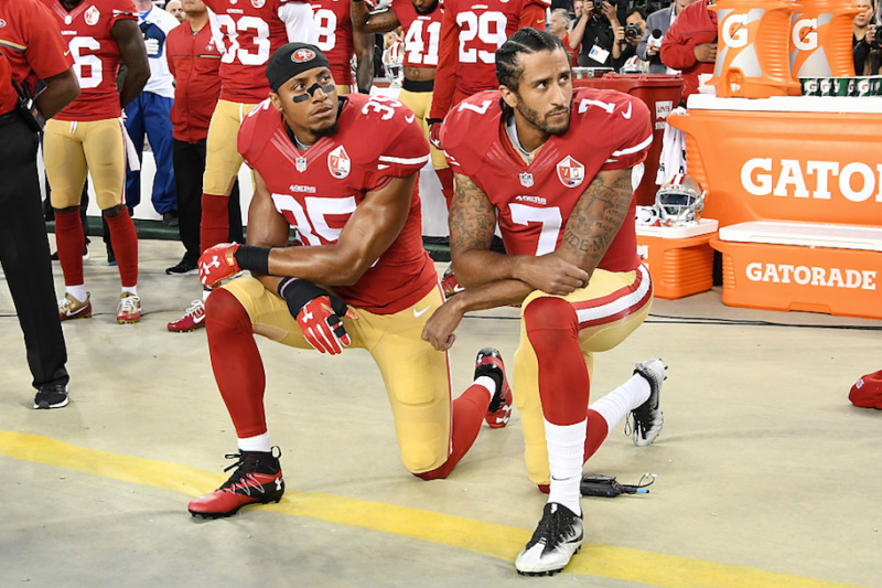 The Baltimore Ravens Asked Fans Who Supported Colin Kaepernick To Show It Now They Aren T Taking Any Comments Kaepernick Colin Kaepernick Nfl Players
