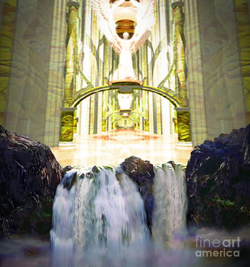River of God: Then the angel showed me the river of the