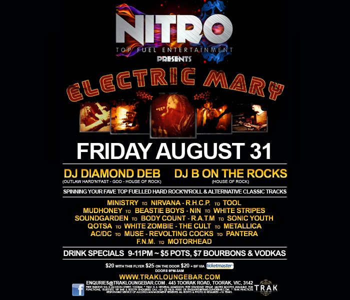NITRO Feat Electric Mary