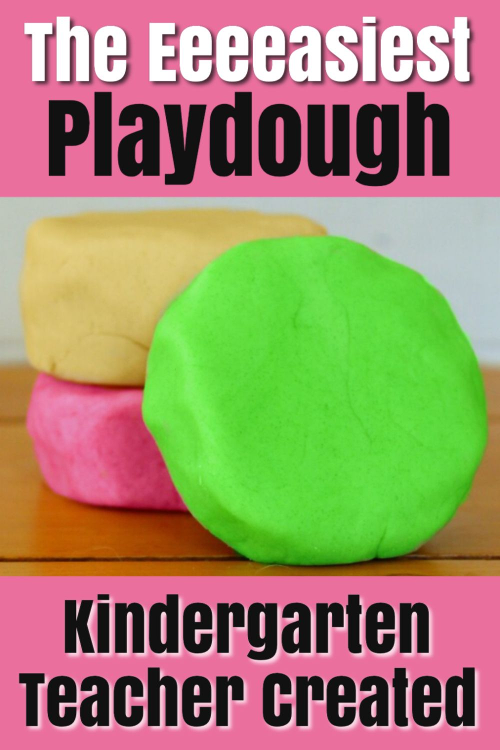 This is the BEST PLAYDOUGH RECIPE there is! Easy