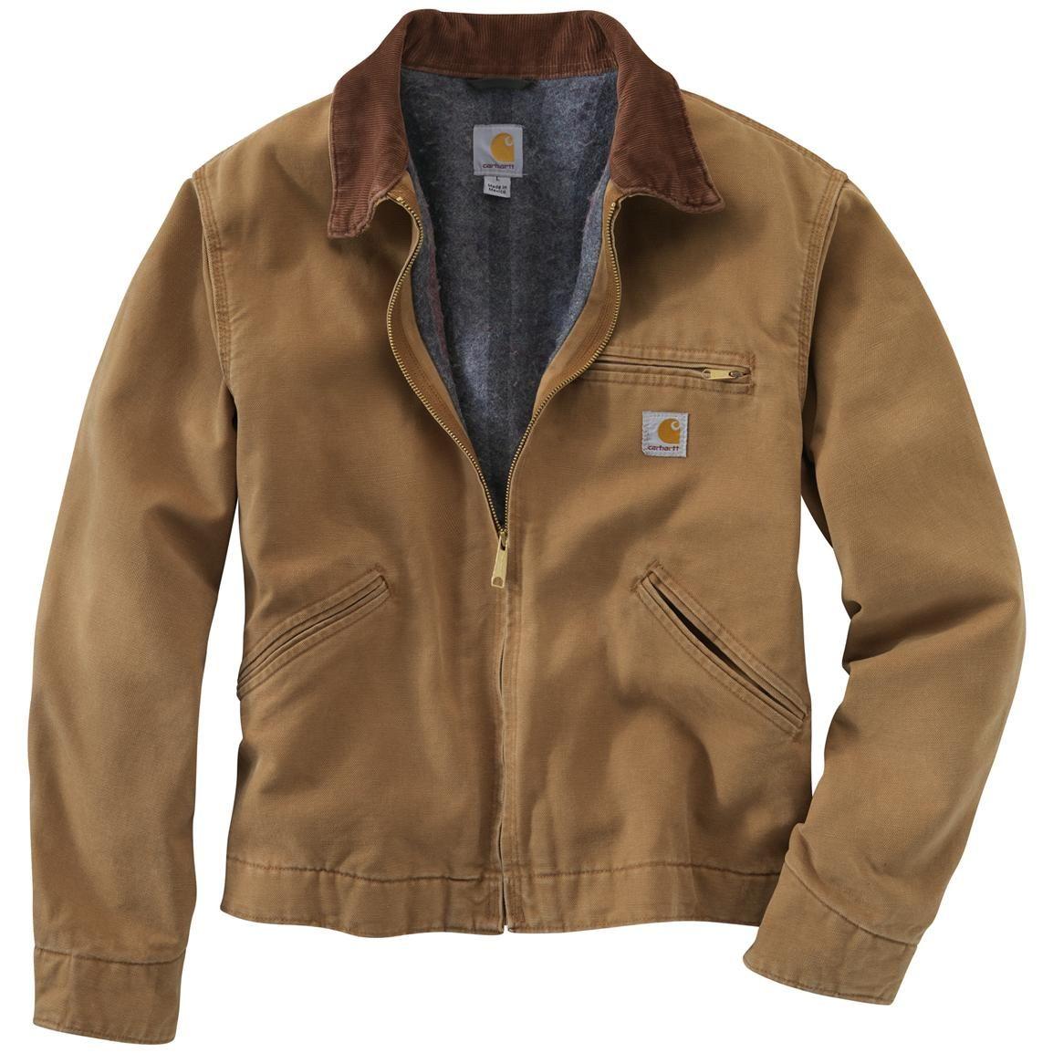 96981ba78bbcd Carhartt® Weathered Duck Detroit Jacket - the All-American work jacket worn  by Matthew McConaughey in #Interstellar!