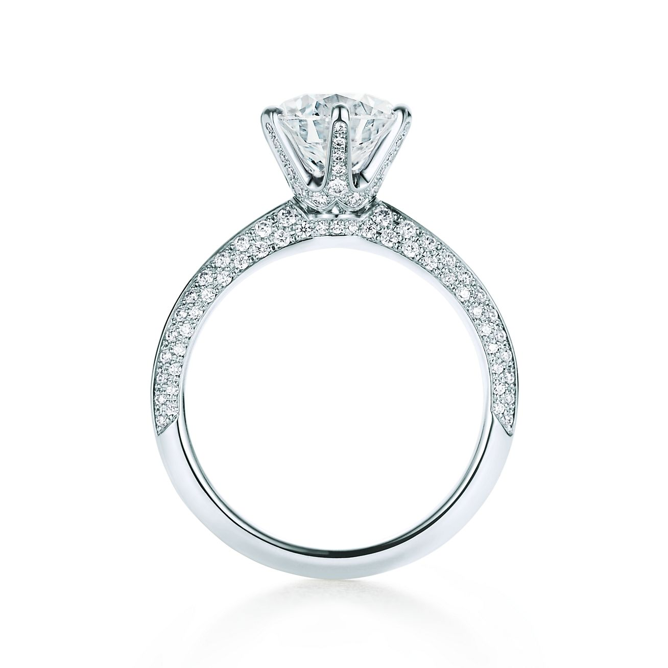 2d9976593 Pavé Tiffany® Setting in 2019   Engagement Ring   Engagement rings ...