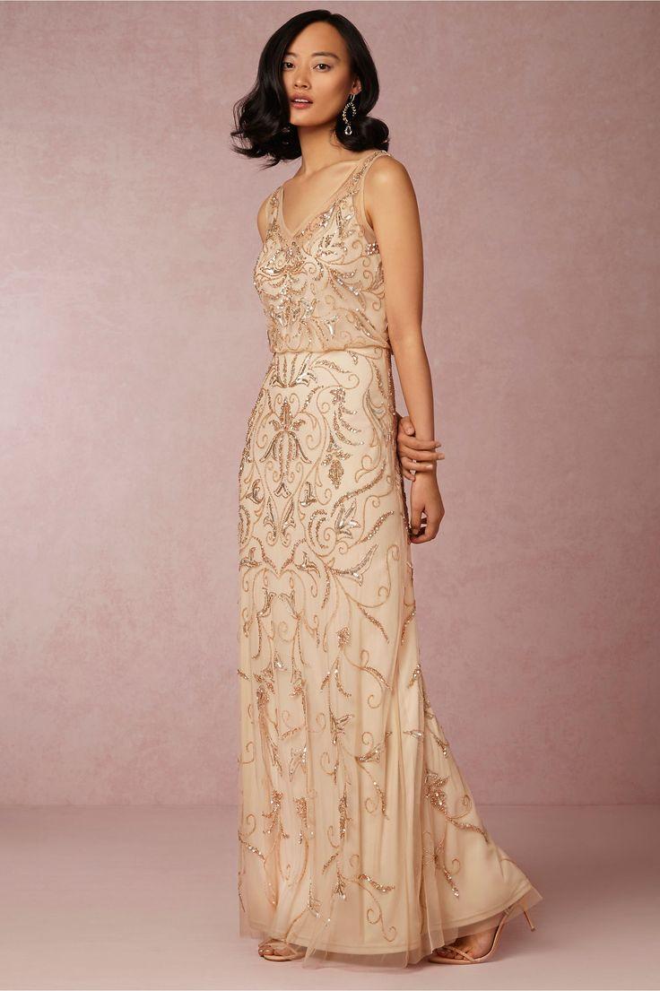 20 Fabulous Art Deco Bridesmaid Dresses | 1930s Wedding ...