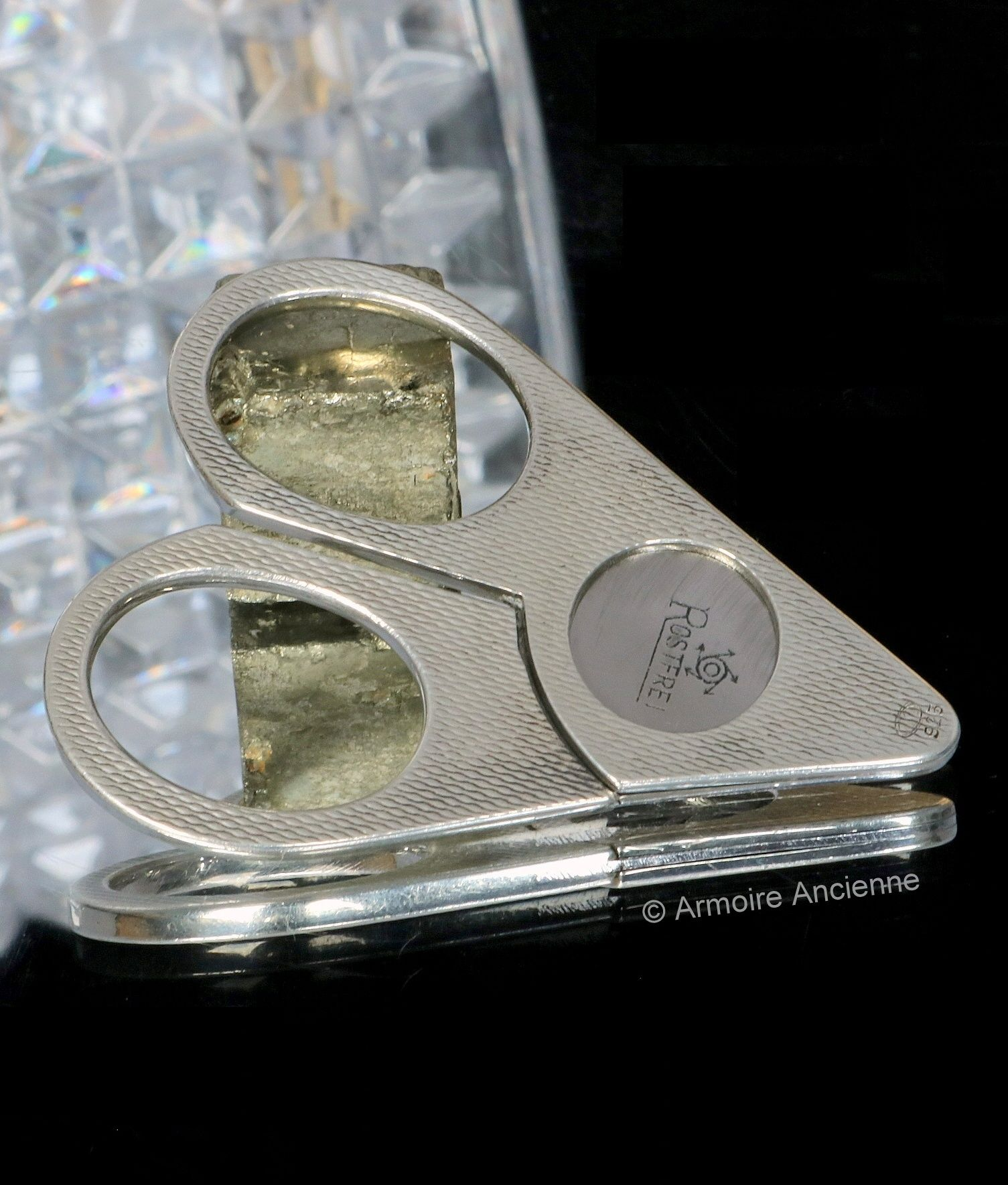 Sterling Silver Cigar Cutter 10mm