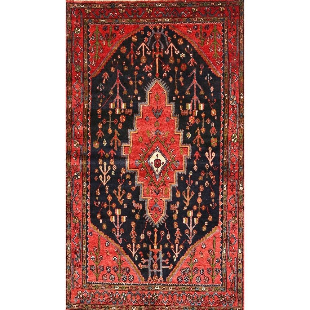 Traditional 252 Area Rug 5 0 By 7 0 5 X 8 Surplus Multicolor Traditional 252 Area Rug 5 0 By 7 0 5 X 8 In 2020 Area Rugs Black Area Rugs Colorful Rugs