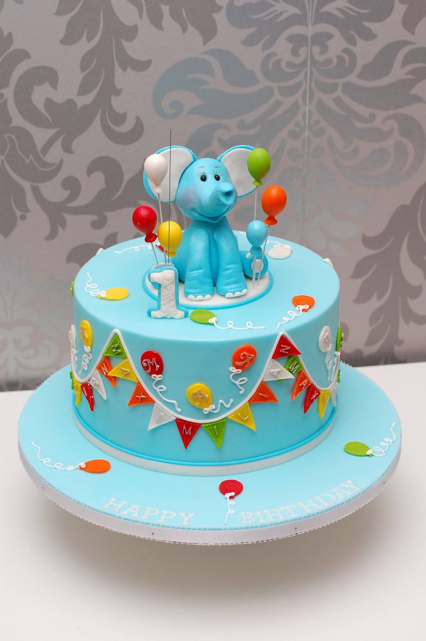 Fondant Kuchen Rezept Kinder Geburtstagstorte Elefant Cupcake And Co In 2019
